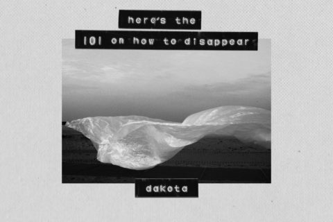 Dakota Here's the 101 On How To Disappear