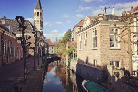 Langegracht, Amersfoort door Ingelise de Vries